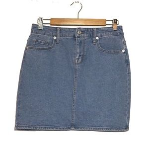 Mossimo Suppy Co. High Waisted Denim Skirt